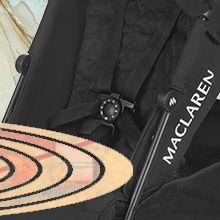 Maclaren WD1G150612 Techno XLR Silla de Paseo, Recién Nacidos hasta los 25 kg, Carbón/Plata