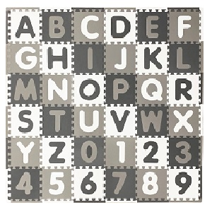 "Indoor//Outdoor Waterproof Puzzle Fabric 03 BROWN WHITE 60/"" W Sold BTY"