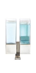 Dispenser, Luxury, Shampoo, Conditioner, Body Wash, Storage, Organization