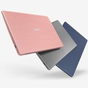 """Acer Swift SF314-52-787X - Ordenador Portátil de 14"""" FullHD (Intel Core i7-7500U, 8 GB RAM, 256"""