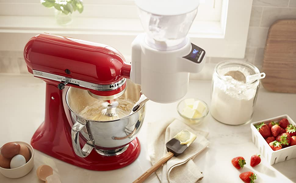 KitchenAid Sifter Scale Stand Mixer Attachment