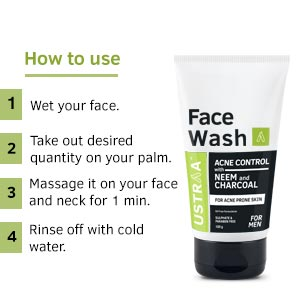 Face wash, best way to use face wash, neem, charcoal