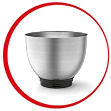 Moulinex Wizzo Elegante vaso de mezcla de acero inoxidable