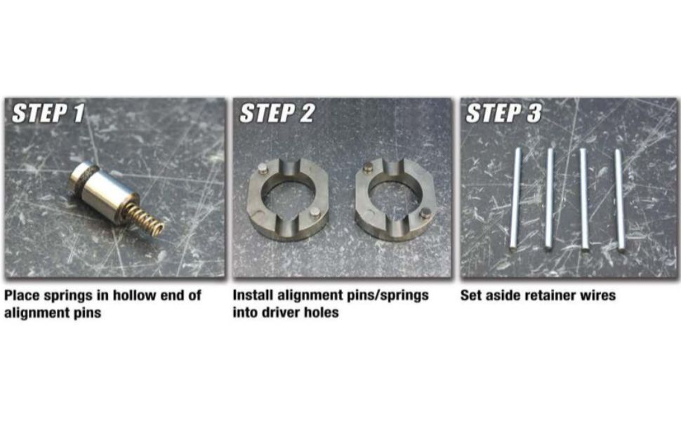 Spartan Locker Installation Step 1-3