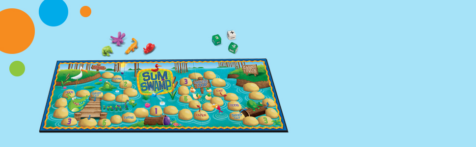 Learning Resources Math Adventure Pack, Sum Swamp & I Sea 10 Games
