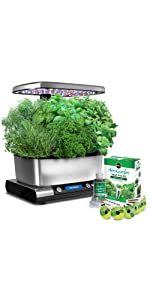 Amazoncom Miracle Gro AeroGarden Harvest Elite with Gourmet