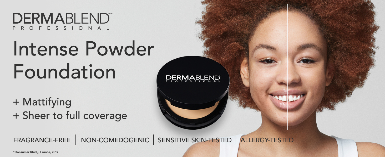 Intense Powder Foundation, Dermablend