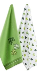 décor st patricks day towels st patricks table decorations st patricks day kitchen towels