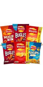 Walkers Snacks Crisps Box