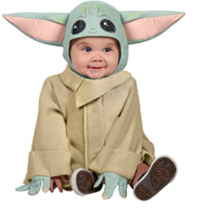 The Child baby yoda baby toddler costume