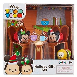 7fef6bf8b356d Amazon.com  Tsum Tsum Exclusive Holiday Mickey   Minnie Gift Set ...