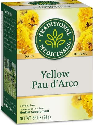 Traditional Medicinals Yellow Pau d'Arco Herbal Tea