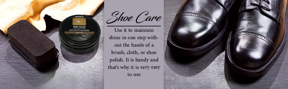 black shoe polish