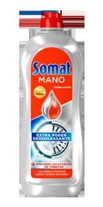Somat Mano Doble Acción Lavavajillas - Paquete de 12 x 710 gr ...