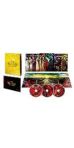 【Amazon.co.jp限定】空海―KU-KAI―美しき王妃の謎 プレミアムBOX(本編Blu-ray+本編DVD+特典DVD 計3枚組)(オリジナルA3ポスター付)