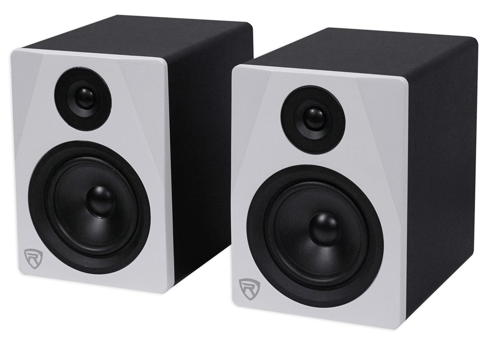bb211c6361a Amazon.com: Rockville 2-Way 250W Active/Powered USB Studio Monitor ...