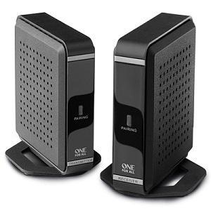 One For All SV1760, Transmisor de señal HDMI inalámbrico, transmite audio y vídeo en Full HD en un rango de 30 metros, negro: Amazon.es: Electrónica