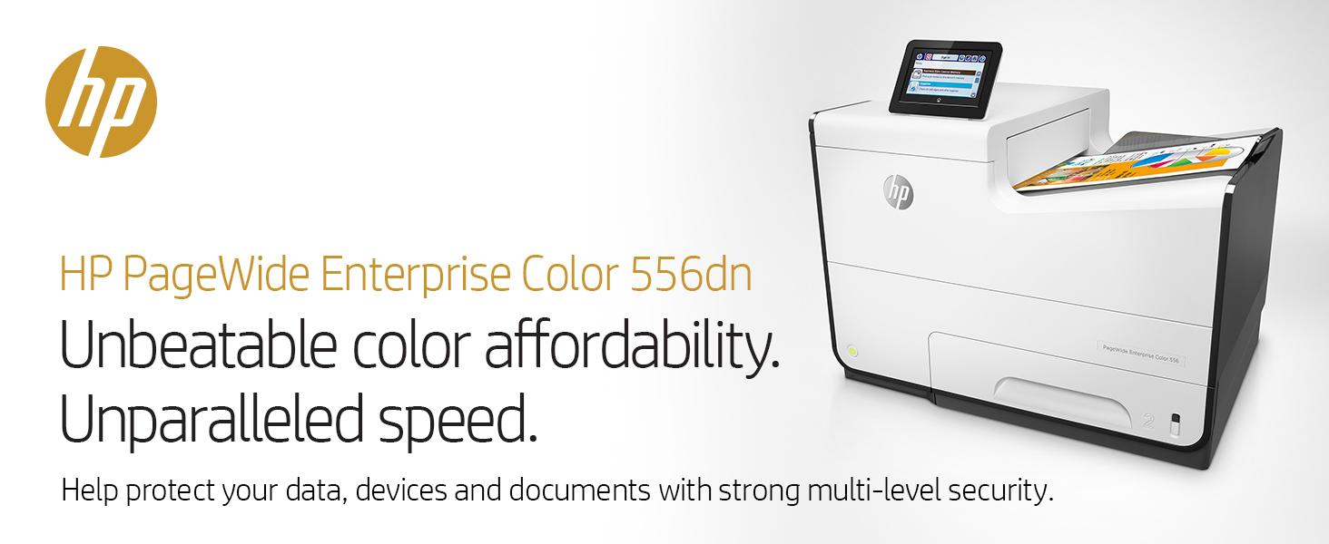 Amazon.com: HP PageWide Enterprise Color 556dn: Electronics
