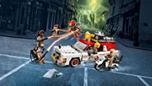 LEGO Ghostbusters Ecto-1 vehicle and Ecto-2 motorbike