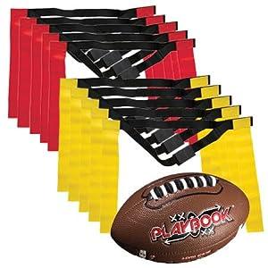 2bcc088e5 Amazon.com   Franklin Sports Youth Flag Football Set - Flag Football ...