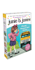 Box set, kindergarten, junie b jones