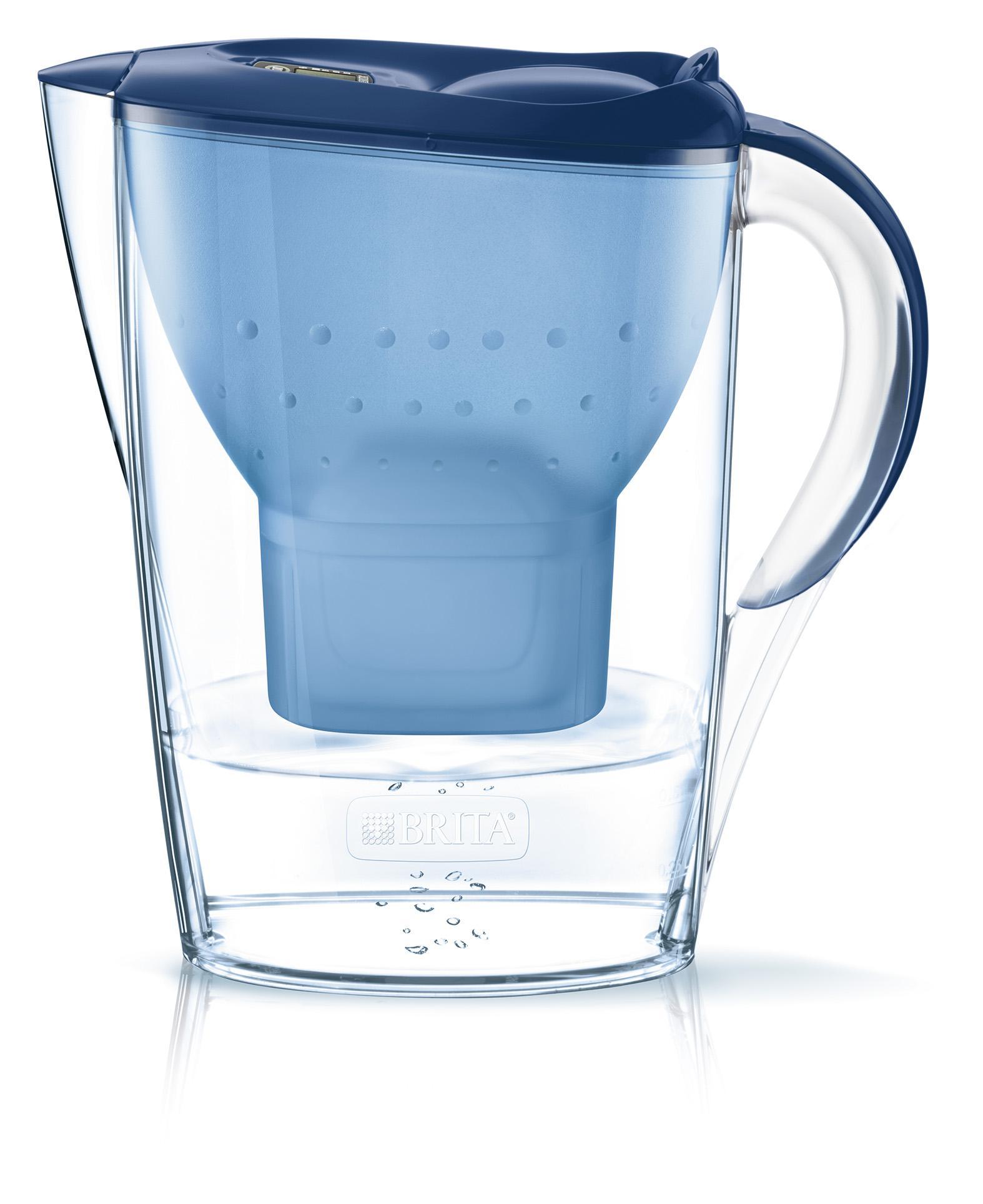 BRITA Wasserfilter Marella blau inkl. 1 MAXTRA+