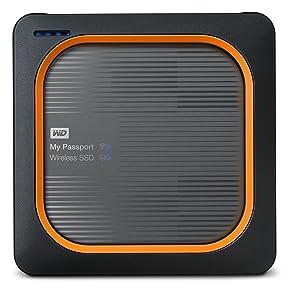wd my passport wireless ssd externe festplatte 500 gb. Black Bedroom Furniture Sets. Home Design Ideas