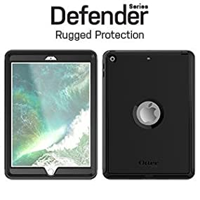 brand new 59e38 b800f OtterBox Defender Series Case for iPad (5th Gen) / iPad (6th Gen) - Retail  Packaging - Black