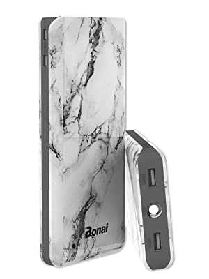 BONAI Portable Charger POWERNUTS, 20000mAh Power Bank High Capacity 4.0A Input LED Flashlight,External Battery Compatible iPhone Samsung Galaxy iPad ...
