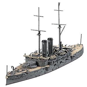 ハセガワ 1/700 日本海軍 戦艦 三笠 プラモデル