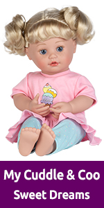 adora, interactive doll, dolls, toys, interactive toys, cuddle, coo, giggle