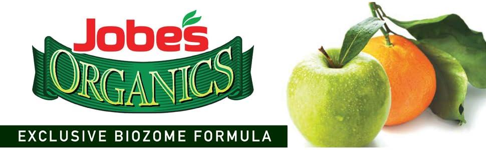 Jobe's Organic Tree Fertilizer Spikes Evergreen Shrubs Biozome