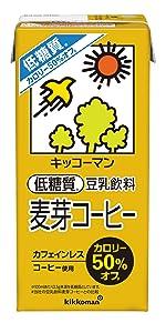 低糖質 カロリーオフ キッコーマン 麦芽 豆乳飲料麦芽