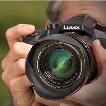 Panasonic Lumix DMC FZ1000 - Cámara Bridge de 20.1 MP (Sensor 1 pulgadas, zoom 16X, Estabilizador Óptico, Objetivo F2.8-F4 de 25- 400 mm, 4K, WiFi), Color Negro: Amazon.es: Electrónica