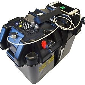 newport vessels smart battery box usb phone charger