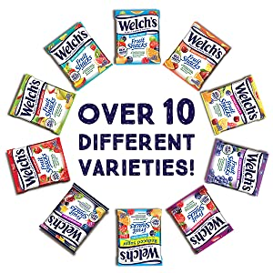 over 10 different flavor flavour varieties