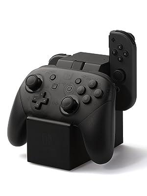 PowerA - Estación de carga Joy-Con + Mando Pro (Nintendo Switch ...