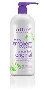 Very Emollient Unscented Body Lotion