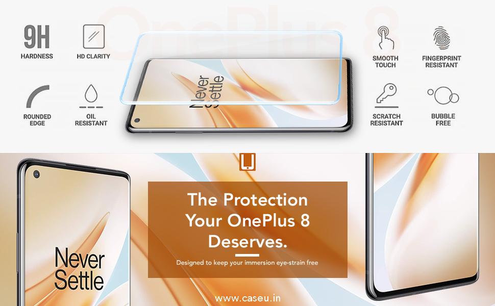 OnePlus 8 UV Glass