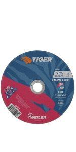 "7"" Tiger AO Cutting Wheels"