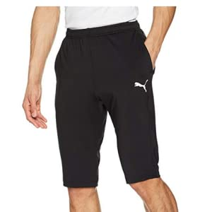 Hombre Puma Hose S.Casual Sweat Logo Bermuda Pantalones