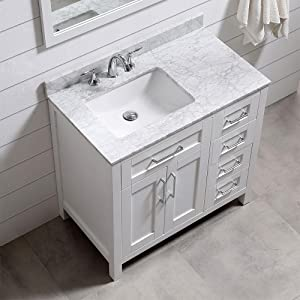 Ove Decors Tahoe 36w Marble Top Single Bathroom Sink