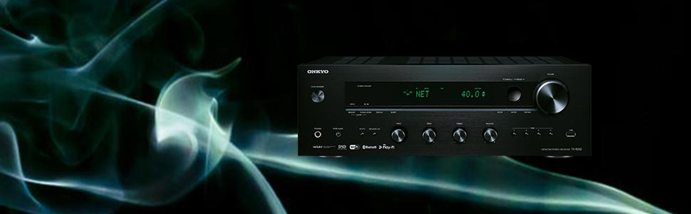 Onkyo TX-8250-B - Receptor estéreo, Color Negro: Amazon.es ...