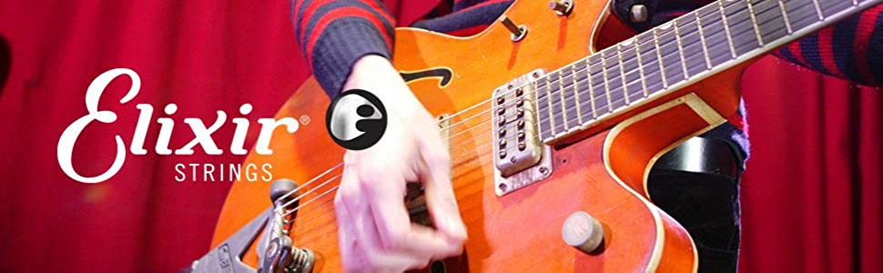 Elixir strings, elixir guitar strings, electric guitar strings, guitar strings online, string gauges