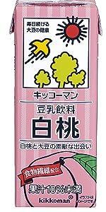 もも 桃 白桃 美味しい 豆乳桃 豆乳白桃 白桃飲料