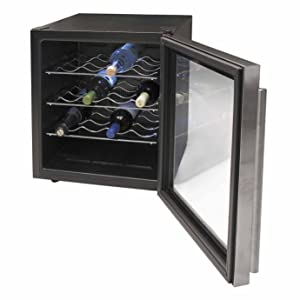 Lacor - 69071 - Armario refrigerador 16 Botellas Inox Line 70w ...