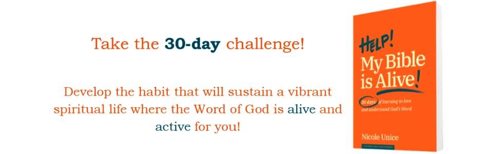 30 day challenge bible reading bible study challenge