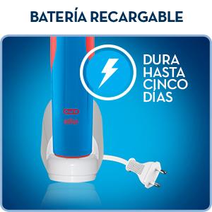 La cómoda batería recargable