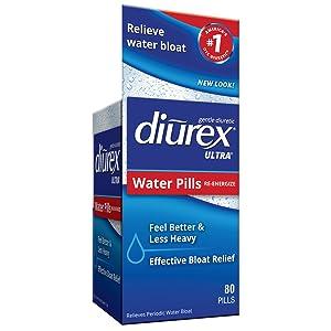 diurex ultra water pills bloat relief