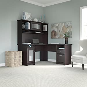 Bush Furniture,Cabot Collection,office Furniture,home Office,desk,hutch,